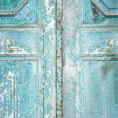 Dirty old door — Stockfoto