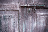 Dirty old door — Stock Photo