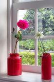 букет искусственных цветов — Стоковое фото