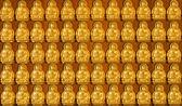 Buda dourado — Fotografia Stock