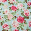 Fabric Rose Pattern — Stock Photo #44341025