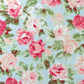 Fabric Rose Pattern — Stock Photo