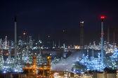 Fabryka rafinerii ropy naftowej — Zdjęcie stockowe