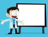 医生字符 3 — 图库矢量图片