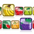 Fruit Icon — Stock Vector
