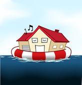 House Insurance — Stock Vector