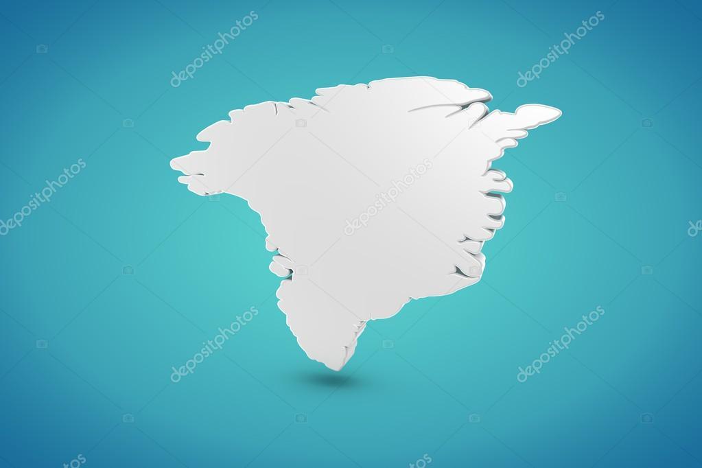 格陵兰岛地图 — 图库照片08pixeleurope#12544528