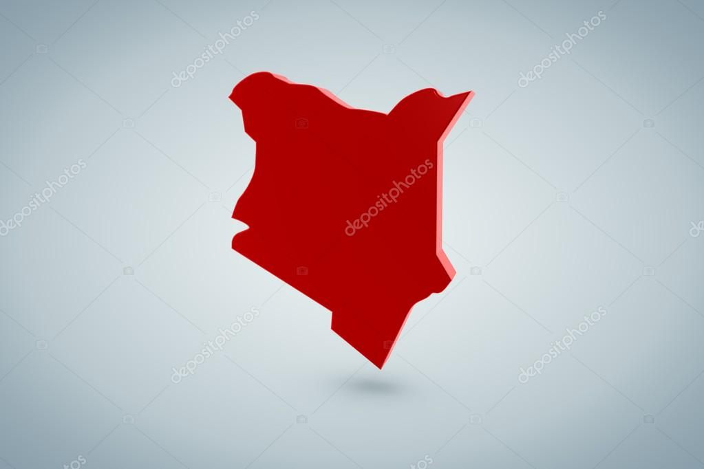 Kenya Map — Stock Photo #12545203