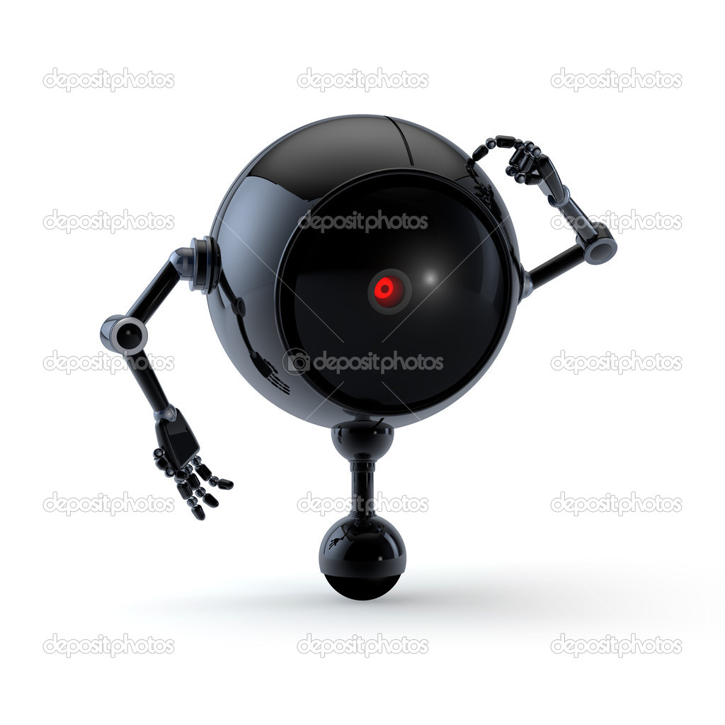 High Quality Robot Collection  Stock Photo #12592231