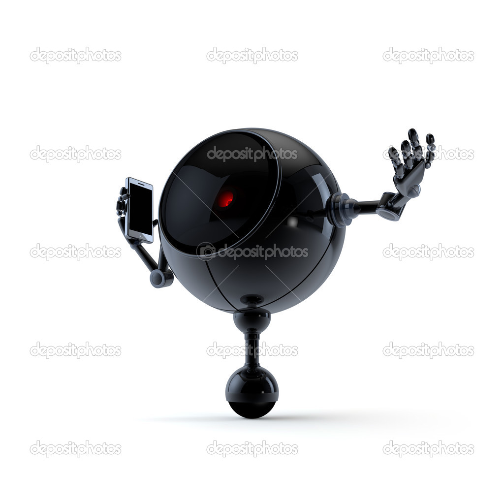 High Quality Robot Collection  Stock Photo #12592559