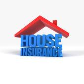 Huis verzekering — Stockfoto