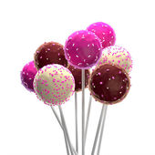 Pop Cakes — Stock Photo