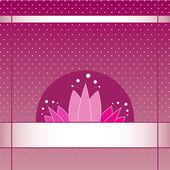 Tulip kort — Stockvektor