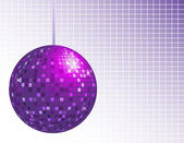 Disco ball background — Stock Vector