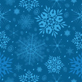 Snowflake pattern dark — Stockvektor