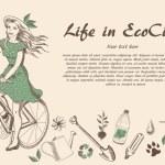 Ecocity — Stock Vector #47262177