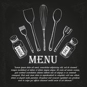 Restaurant menu — Stockvector