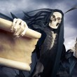 Stock Photo: Grim reaper, angel of death