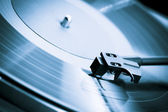 Vintage turntable close-up — Stock Photo
