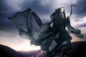 Grim reaper, angel of death — Stock Photo