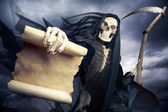 Grim reaper, angel of death — Stok fotoğraf