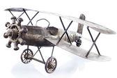 Beyaz izole oyuncak uçak — Stok fotoğraf