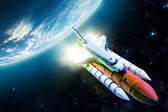 Space shuttle — Stock Photo