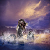 Loch Ness Monster — Stock Photo