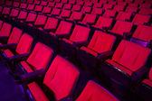 Wiersze teatr pustych miejsc — Zdjęcie stockowe