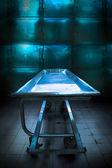 Morgue tray — Stock Photo