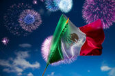 Mexican Flag Independence day — Stock Photo