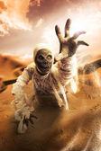 Scary mummy — Stock Photo