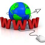 World wide web internet concept — Stock Photo