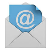 E mail concept — Stock Photo
