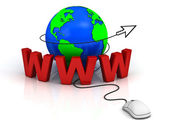 World wide web internet concept — Stock Photo