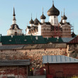 Solovetsky Monastery - architectural ensemble Solovetsky Kremlin - Stock Photo