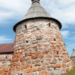 Stock Photo: Solovetsky Monastery. White tower