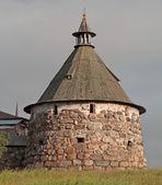 Solovetsky Monastery. Korozhnaya tower — Stock Photo