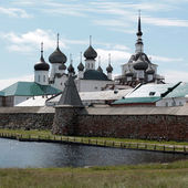 Solovetsky Monastery - architectural ensemble Solovetsky Kremlin — Stock Photo