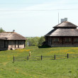Rural building in Eastern Europe — Stock Photo
