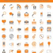 Set of 49 web icons — Stock Vector #13322567
