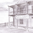 Saloon — Stock Photo