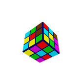 Rubik's cube — Stock Photo