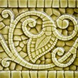 Old Art Nouveau Tile Dating from before 1906 — Stock Photo #44147011