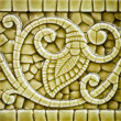 Old Art Nouveau Tile Dating from before 1906 — Stock Photo