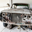 Very Old and Decrepit Car Awaiting Restoration — Stock Photo #45935051