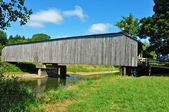 Grays River Covered Bridge — Stock Photo