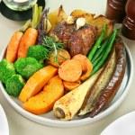 Roasted Lamb And Garlic — Stock Photo #11668244