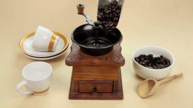 Coffee Grinder — Stock Video