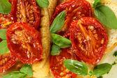 Roasted Tomato Bruschetta — Stock Photo